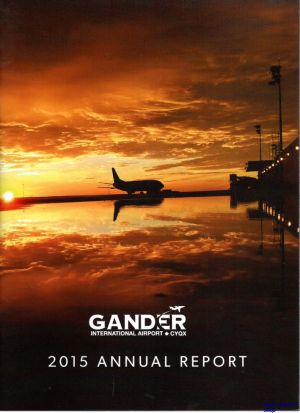 Image not found :Gander International Airport, 2015 Annual Report