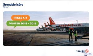 Image not found :Grenoble Isere Airport, Press Kit, Winter 2015-2016
