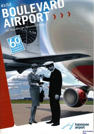 Image not found :Boulevard Airport, das Magazin vom Hannover Airport (01/12)