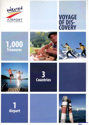 Image not found :Karnten Airport, Voyage of Discovery, 1000 treasures, 3 countries