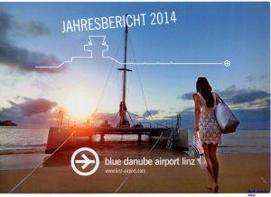Image not found :Blue Danube Airport Linz, Jahresbericht 2014