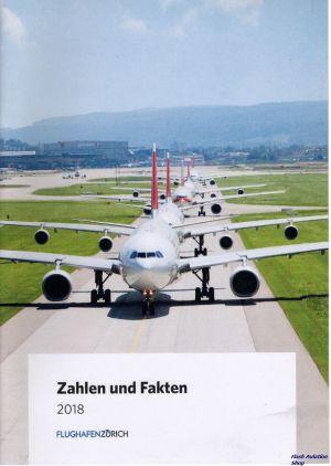 Image not found :Zahlen und Fakten 2018, Flughafen Zurich