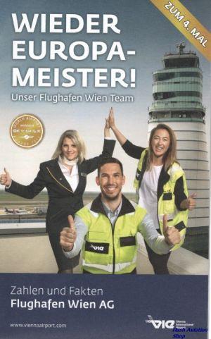 Image not found :Wieder Europa-Meister!, Flughafen Wien AG, Zahlen und Fakten