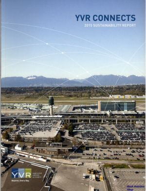 Image not found :YVR Connects, 2015 Sustainability Report
