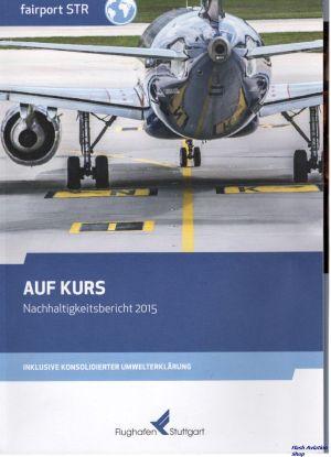 Image not found :Auf Kurs, Nachhaltigkeitsbericht 2015, Flughafen Stuttgart