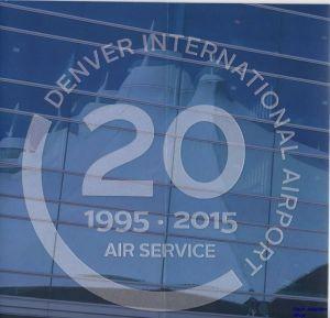 Image not found :Denver International Airport 20 1995 - 2015 Air Service