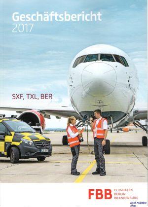 Image not found :Geschaftsbericht 2017, SXF, TXL, BER.