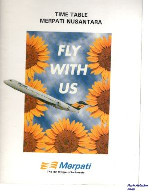 Image not found :Merpati Nusantara Time Table, Fly with US