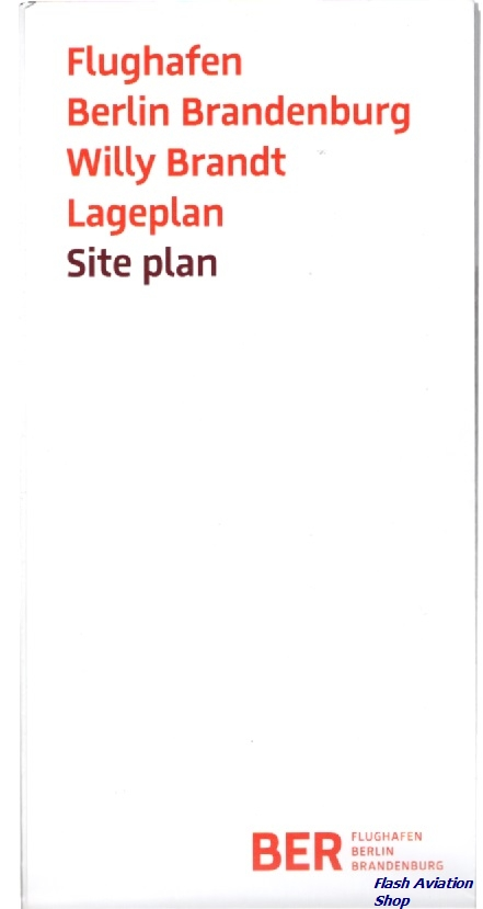 Image not found :Flughafen Berlin Brandenburg Willy Brandt Lageplan / Siteplan