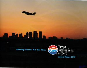 Image not found :Tampa International Airport, Annual Report 2010