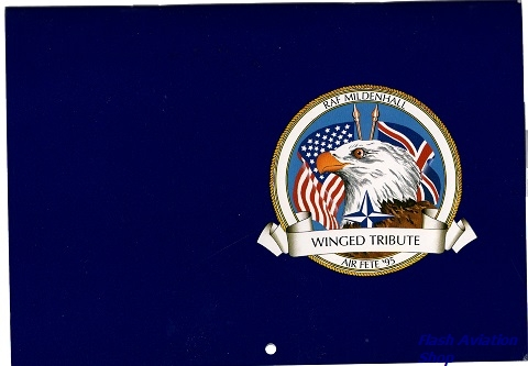 Image not found :RAF Mildenhall, Winged Trubute, Air Fete '95