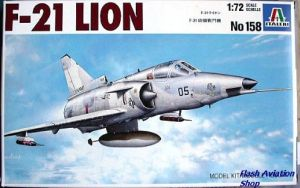 Image not found :F-21 Lion (Kfir)