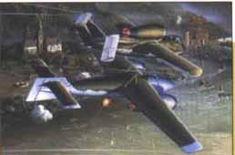 Image not found :Mistel 5 (He.162A-2 with Arado E377a)