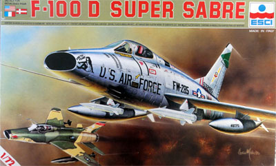 Image not found :North American F-100D Super Sabre