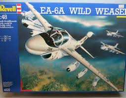 Image not found :EA-6A Wild Weasel (small cockpit parts already built, not painted)