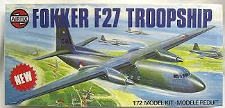Image not found :Fokker F.27 Troopship (camo)
