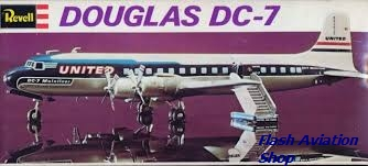 Image not found :Douglas DC-7 (Empty box only !)
