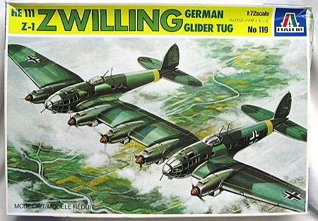 Image not found :Heinkel He.III Z-1 Zwilling Glider Tug