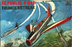 Image not found :Republic F-84F Thunderstreak 'Getti Tonanti'