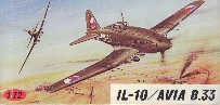 Image not found :IL-10 / Avia B.33 (red box)