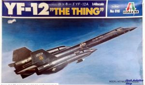 Image not found :YF-12A 'the Thing' (Some parts build like engine nacelles)