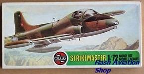 Image not found :BAC Strikemaster (green corner)