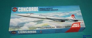 Image not found :Concorde Anglo-Fench Suprsonic Airliner (second mold) SKYKING