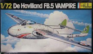 Image not found :De Havilland FB.5 Vampire (original sealing)