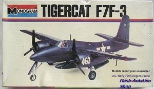 Image not found :Tigercat F7F-3 PLUS Monogram F8F Bearcat