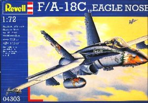 Image not found :F/A-18C Hornet 'Eagle nose art'