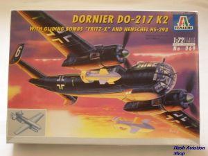 Image not found :Do.217K 2 & Gliding Bomb 'Fritz X'
