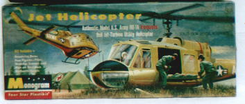 Image not found :-98. Bell UH-1A (Empty box only !)