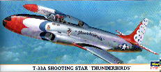 Image not found :T-33A Shooting Star 'Thunderbirds'