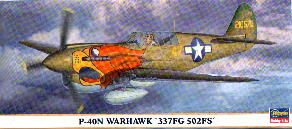 Image not found :P-40N Warhawk 337 FG