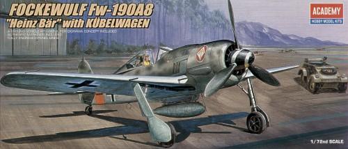 Image not found :Focke Wulf Fw.190A & Kubelwagen