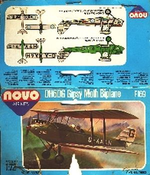 Image not found :DH60G Gipsy Moth Biplane (bag)