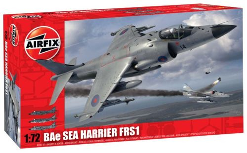 Image not found :Sea Harrier FRS.1 (new tooling) (Red box)