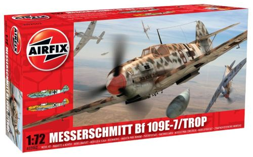 Image not found :Messerschmitt Bf.109E-7 Tropical