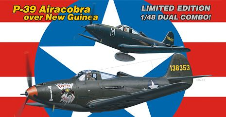 Image not found :Bell P-39D / P-39N / P-39Q Airacobra over New Guinea Duel Combo. T