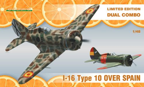 Image not found :Ilyushin I-16 Type 10 over Spain Dual Combo) (Limited Edition Seri