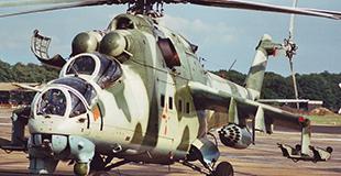 Image not found :Mil Mi-24V Hind E