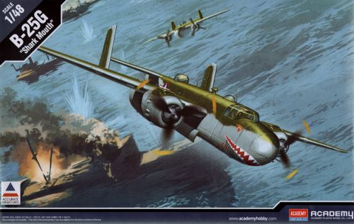 Image not found :North-American B-25G Mitchell 'Cannon Nose' Accurate Miniatures to
