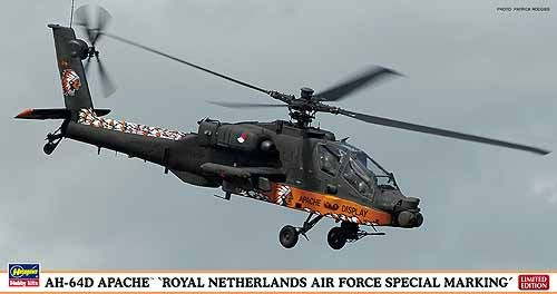 Image not found :Westland/Boeing AH-64D Apache 'Royal Netherlands Air Force Special