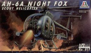 Image not found :AH-6A Night Fox Scout helicopter