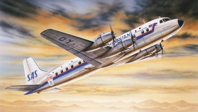Image not found :DC-6 Super Cloudmaster (2019 style)