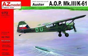 Image not found :Auster AOP Mk.III/K-61 RAAF, IAF, CzAF (re-issue)