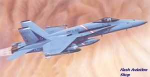 Image not found :F-18A Hornet (blue box)