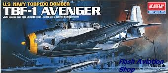 Image not found :Grumman TBF-1 Avenger (smaller box)