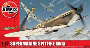Image not found :Spitfire Mk.IA (Red box) with BoB Sticker