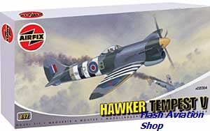Image not found :Hawker Tempest V (grey box) with resin Jays model kit for Mk.I